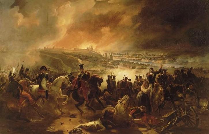 La prise de Smolensk (17 août 1812). dans TEMOIGNAGES smolensk