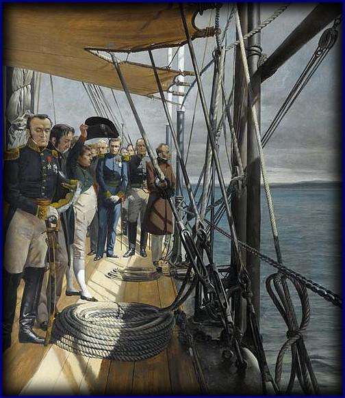 Notes du général baron Charles Lallemand sur l'embarquement de l'Empereur à Rochefort (1815). dans TEMOIGNAGES adieumabellefrance