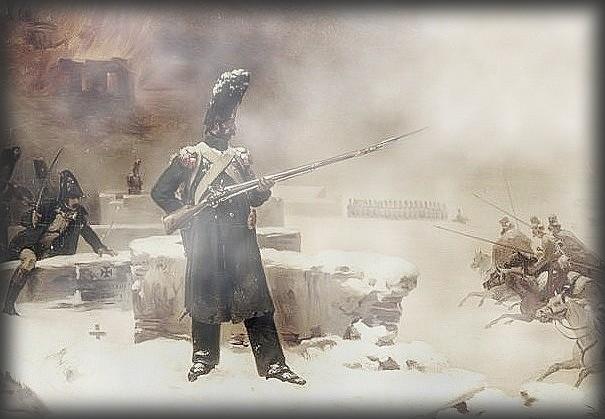 Boire et mourir… (A Zizmori,Russie, vers le 13 décembre 1812). dans TEMOIGNAGES campagnerussie