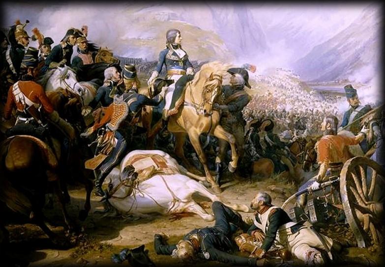 La BATAILLE de RIVOLI, 14 JANVIER 1797... dans JOURS D'EPOPEE Rivoli
