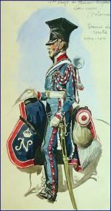 Trompette du 1er régiment de chevau-légers lanciers