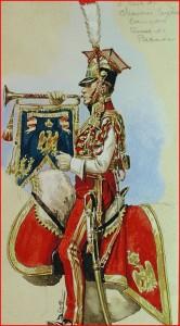 Trompette du 2ème régiment de chevau-légers lanciers