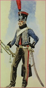 Trompette du 3ème hussards