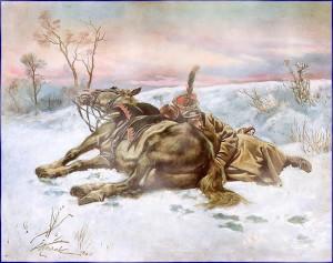 Le froid et ce sommeil qui vous engourdit (Russie, 1812)...