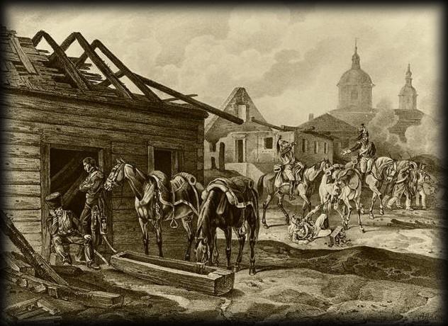 Alexandre Ier et l'incendie de Moscou… dans TEMOIGNAGES Mosk-22sept1812