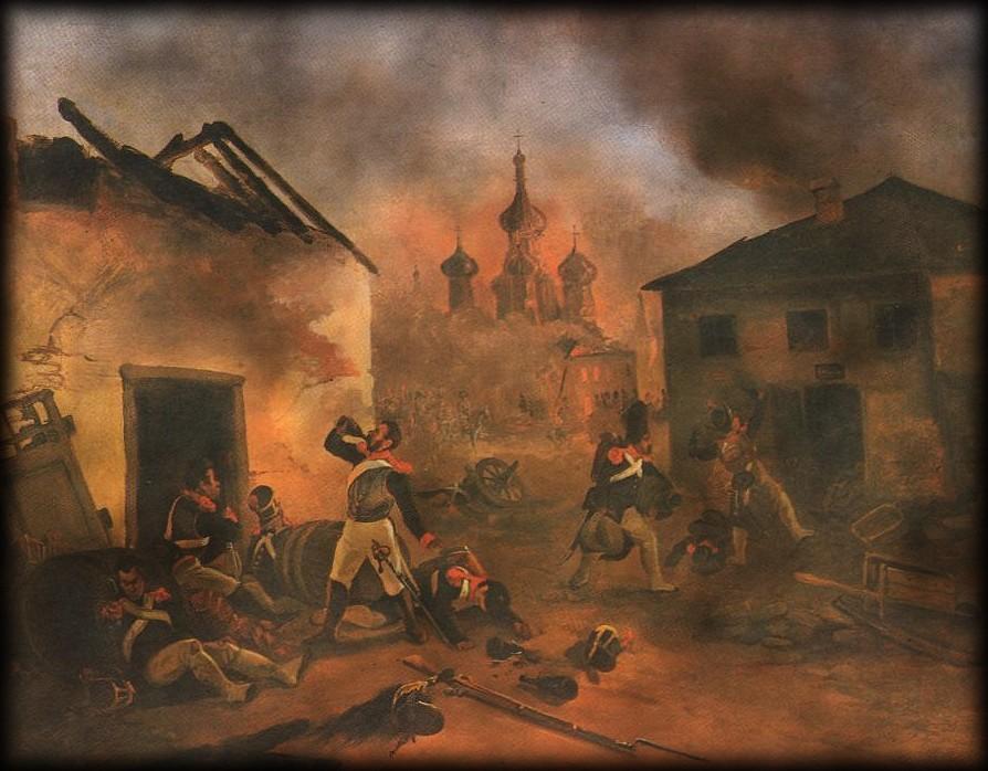 L'incendie de Moscou… dans TEMOIGNAGES Russie