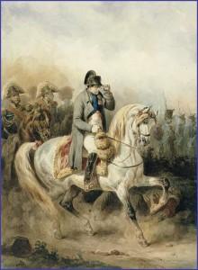 L'Empereur à cheval...