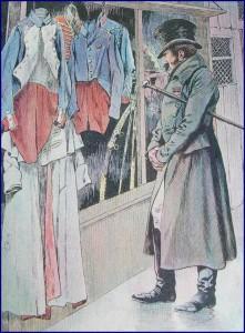 Vieux uniformes, lambeaux d'un glorieux passé...
