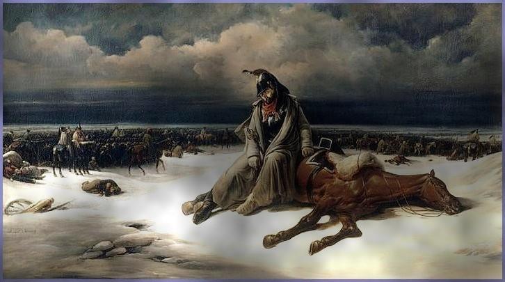 Scènes incroyables ! (Campagne de Russie, 1812). dans TEMOIGNAGES la-retraite-de-russie