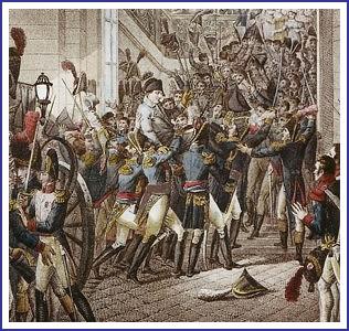 20 mars 1815, 9 heures du soir: arrivée triomphale de l'Empereur aux Tuileries, après son débarquement sur les côtes de France ! dans JOURS D'EPOPEE 11020091