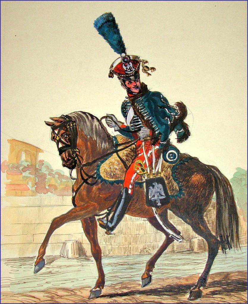 Garde d'honneur du 2ème régiment.