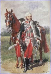Marulaz, au 8ème hussards...