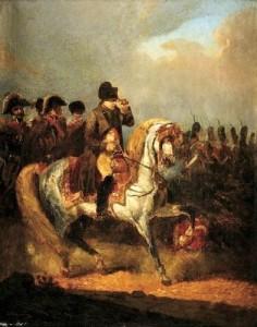 Napoléon et son état-major...