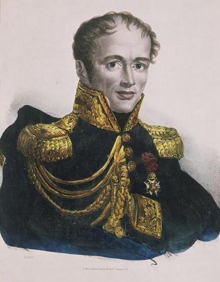 Une lettre du général Drouot dans TEMOIGNAGES 75-000728