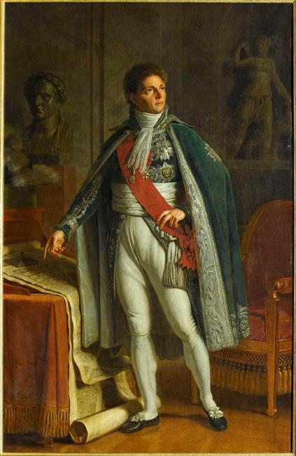 Napoléon au maréchal Berthier, prince de Neuchâtel, major général de la Grande-Armée. dans FIGURES D'EMPIRE 08-533706
