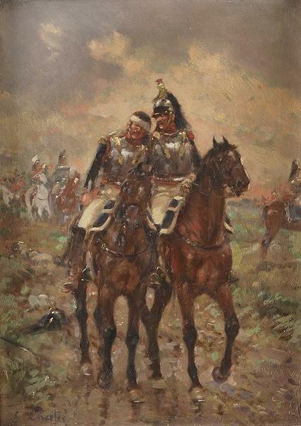 7 novembre 1813... dans TEMOIGNAGES cuirassier-blesse