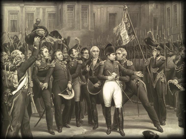 INOUBLIABLES «ADIEUX DE FONTAINEBLEAU» ! dans TEMOIGNAGES 20-avril-1814