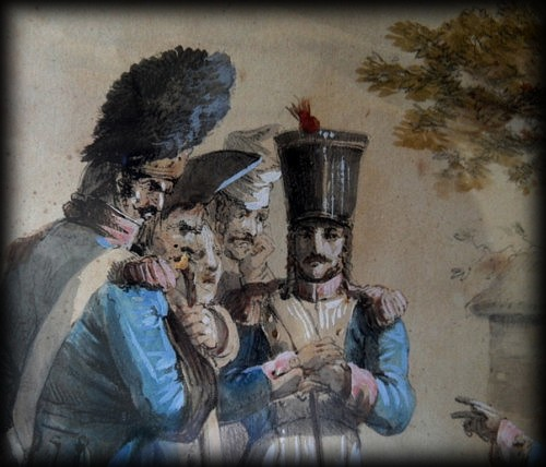 Les officiers du 13ème hussards… dans TEMOIGNAGES soldats