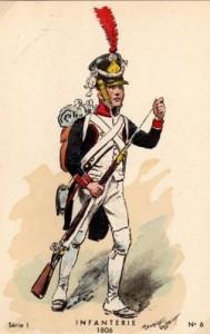 Infanterie,1806.