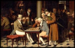 Le fameux café Montansier au Palais-Royal (en 1815). dans TEMOIGNAGES jeux_de_dames_au_cafe_lamblin_au_palais-royal-300x192