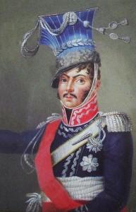 Le courageux maréchal Poniatowski.