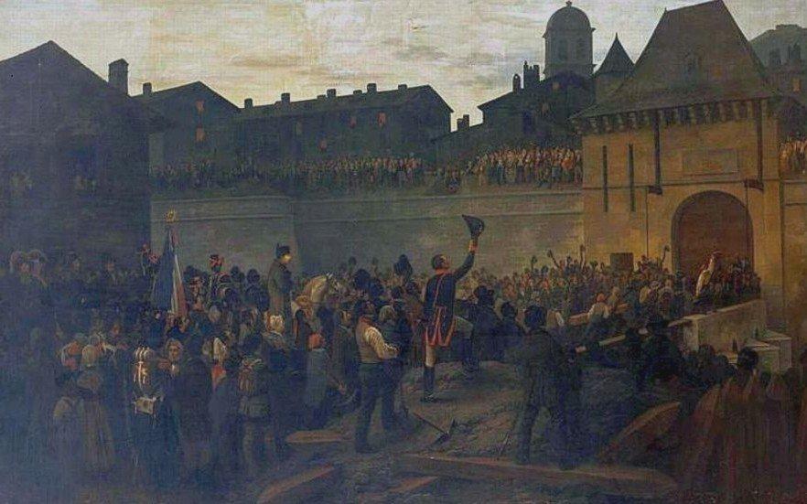 Napoléon Grenoble, 8 mars 1815