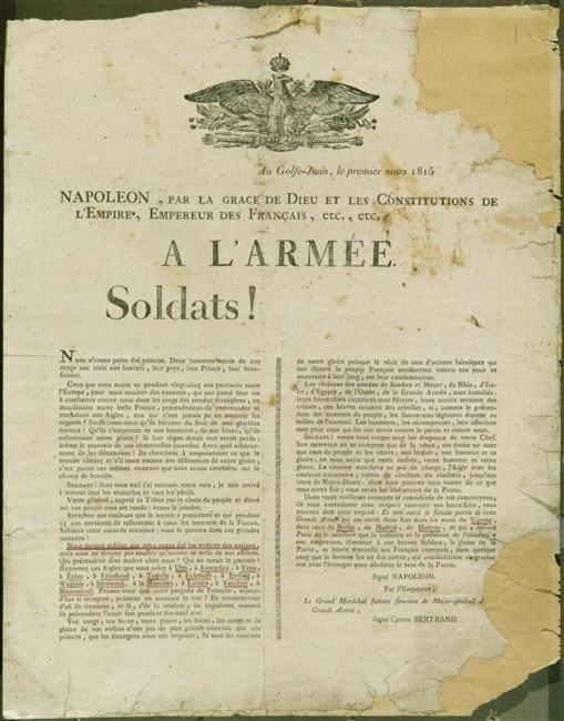 Golfe 1er mars 1815