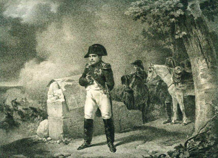 Napoléon à Charleroi en 1815